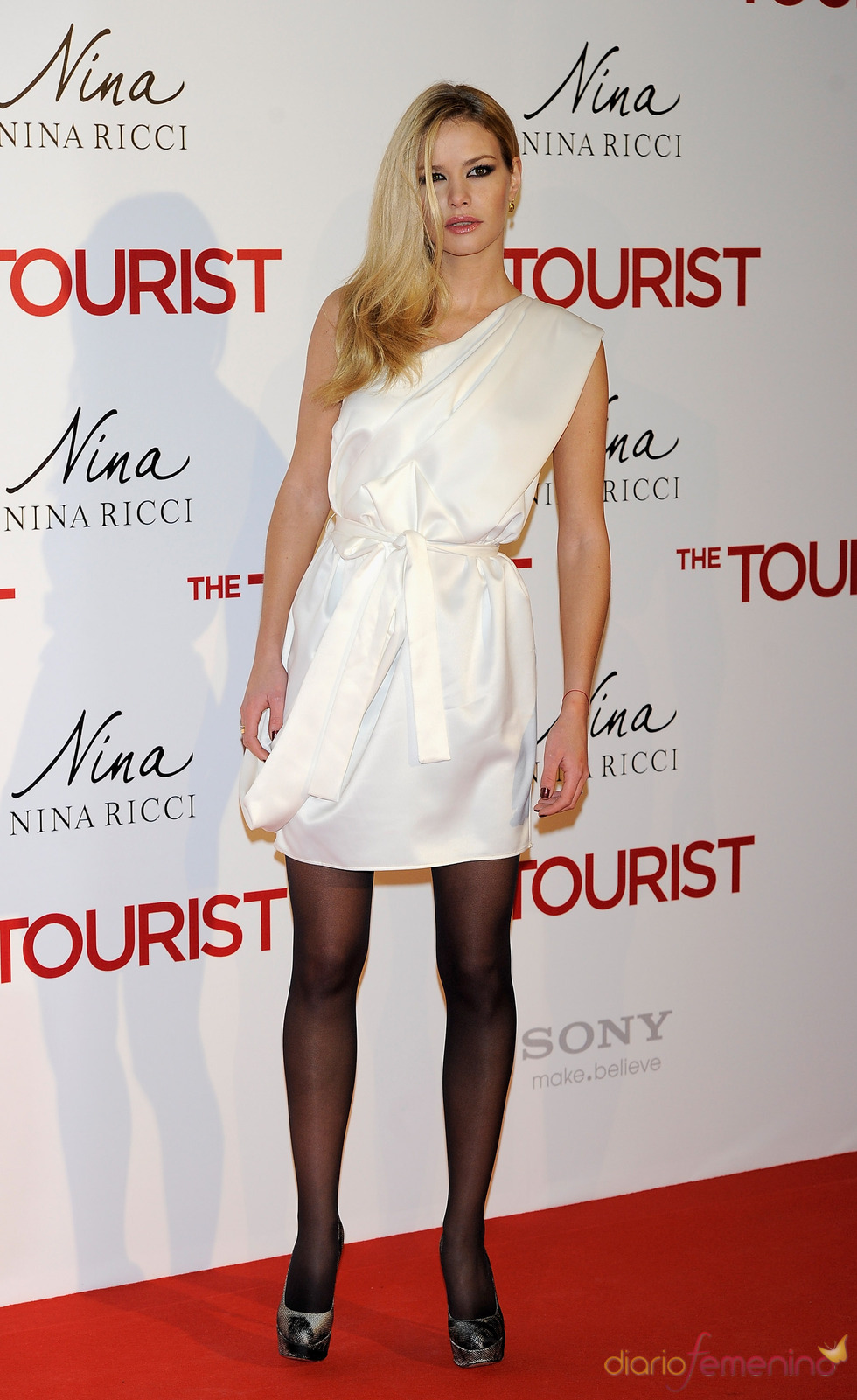 Maria San Juan en la  premiere en Madrid de 'The Tourist'