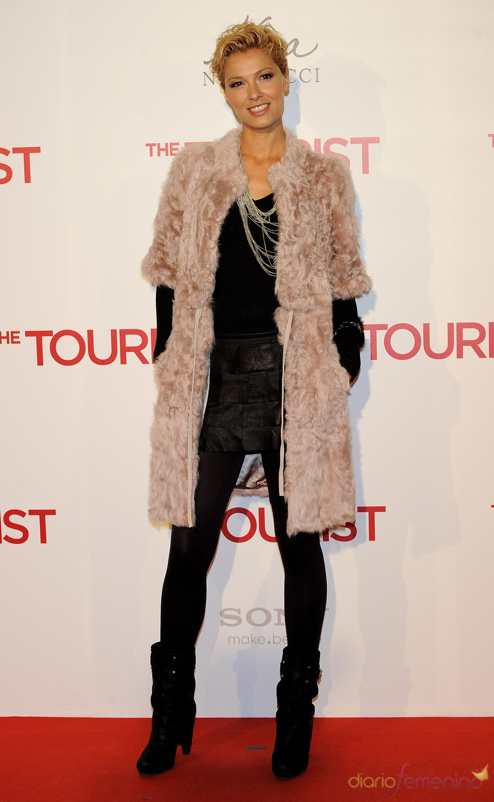 Cristina Urgel en la premiere en Madrid de 'The Tourist'