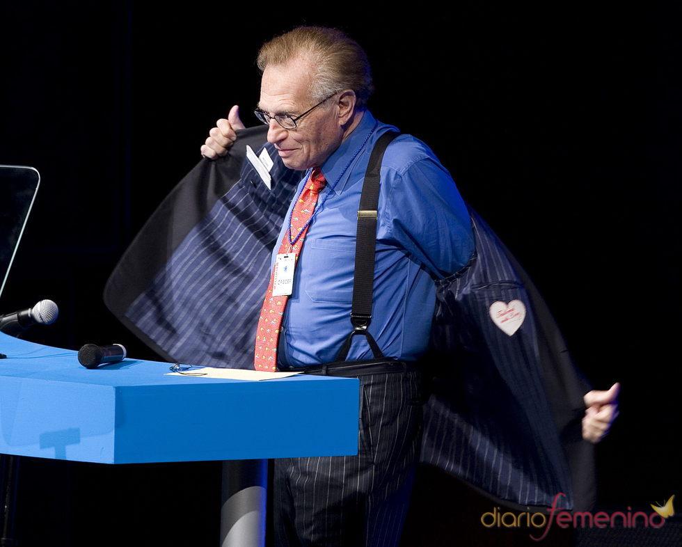 Larry King se despide