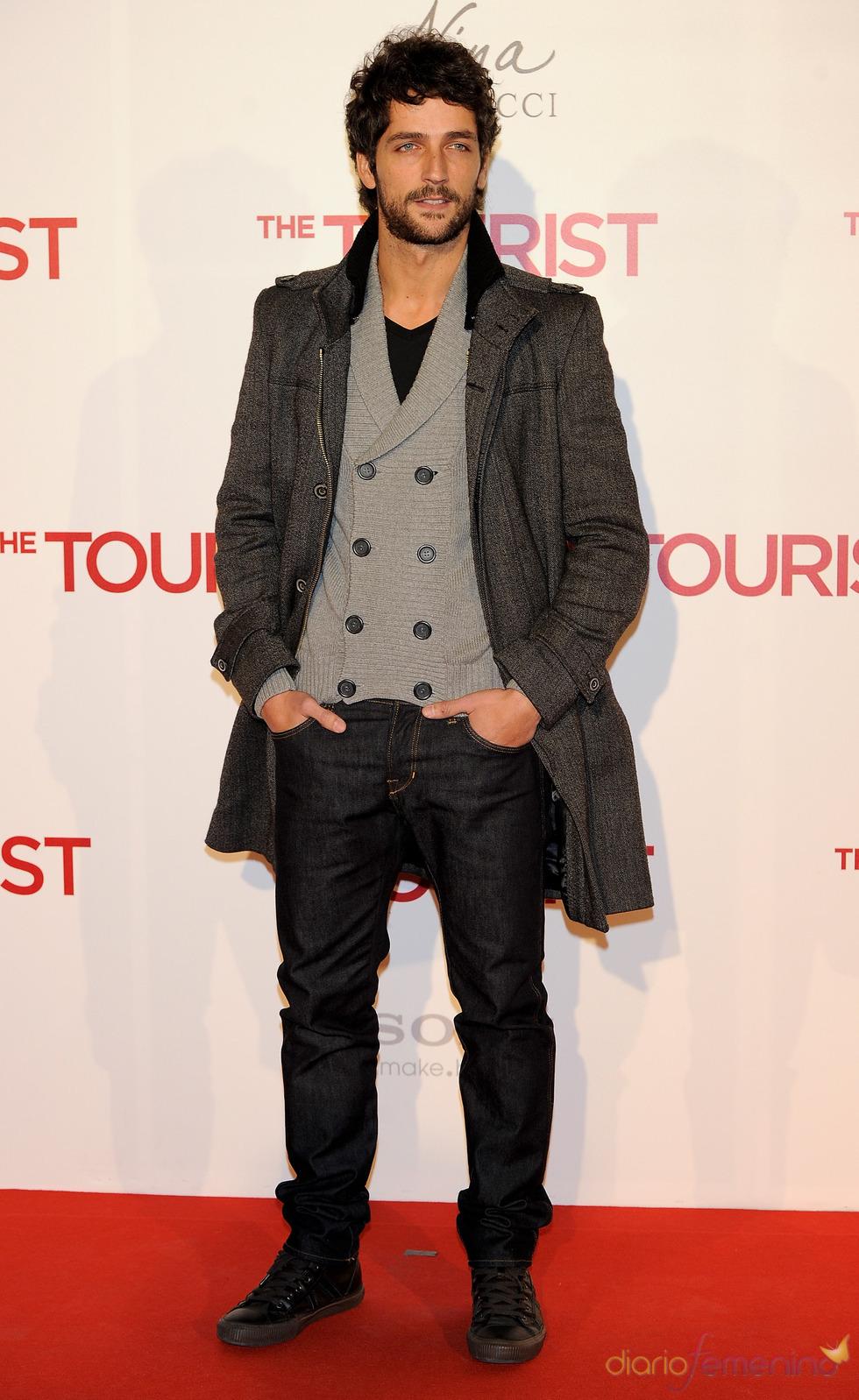 Pablo Castanon en la premiere en Madrid de 'The Tourist'