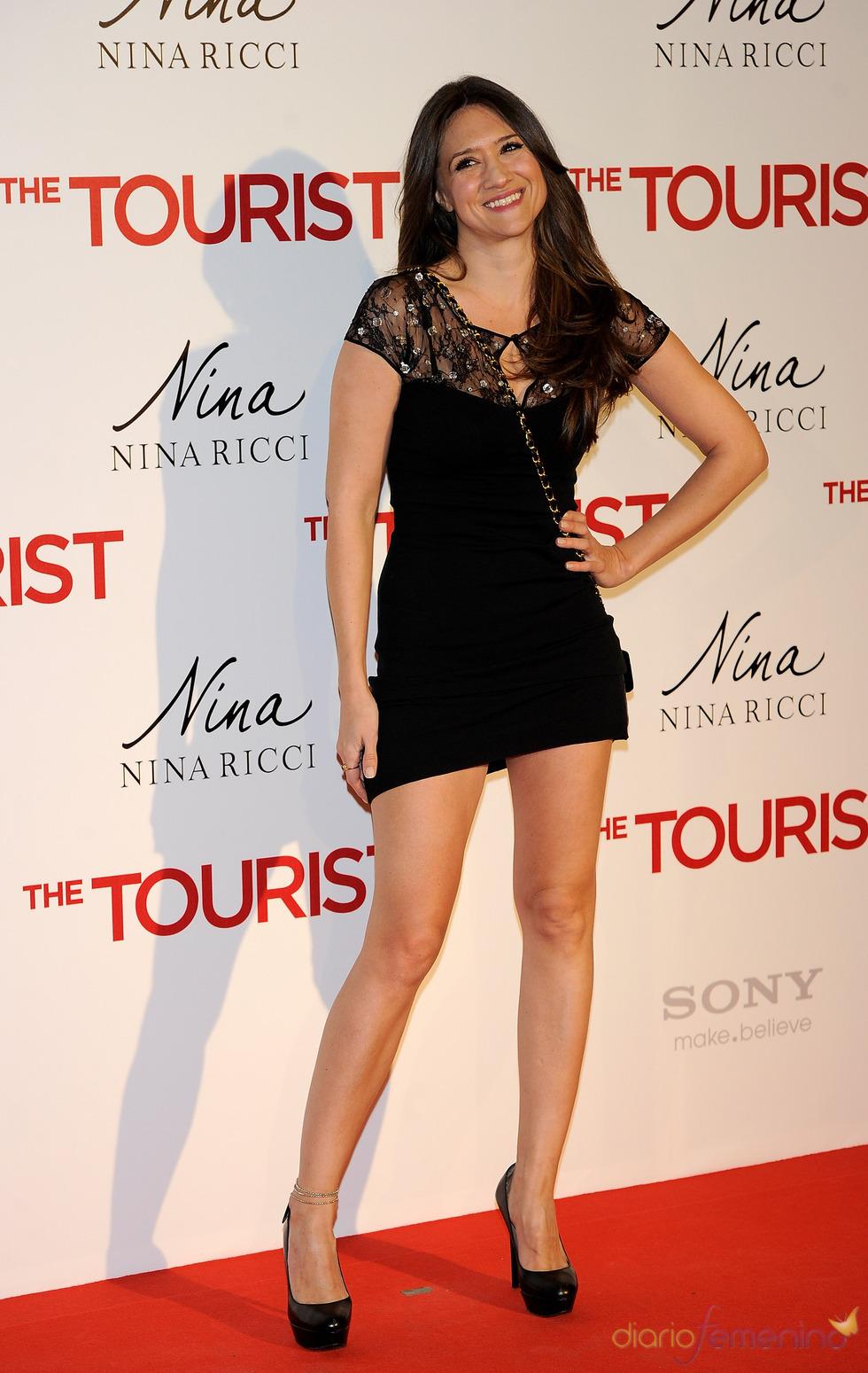 Maria Botto en la premiere en Madrid de 'The Tourist'