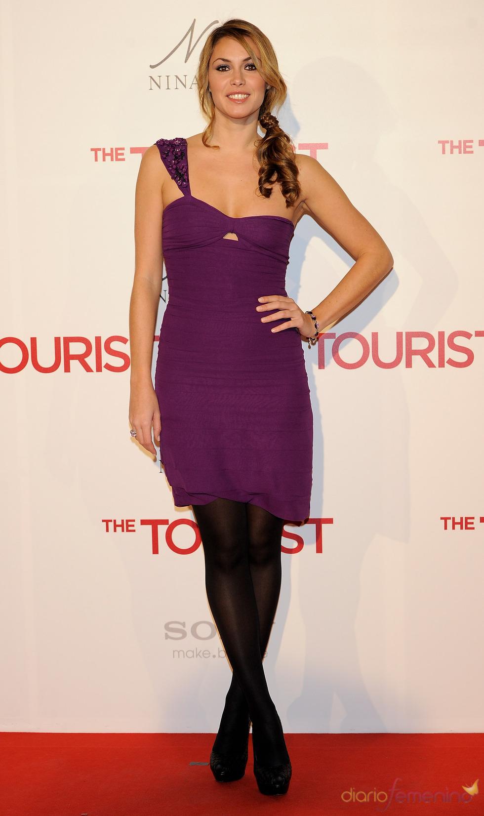 Priscila de Gustin en la premiere de 'The Tourist' en Madrid