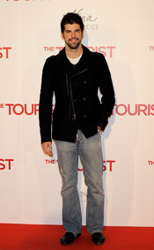 Miguel Ángel Muñoz en la premiere de 'The Tourist' en Madrid