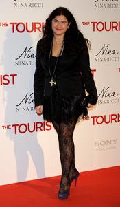 Lucia Etxebarria en la premiere de 'The Tourist' en Madrid