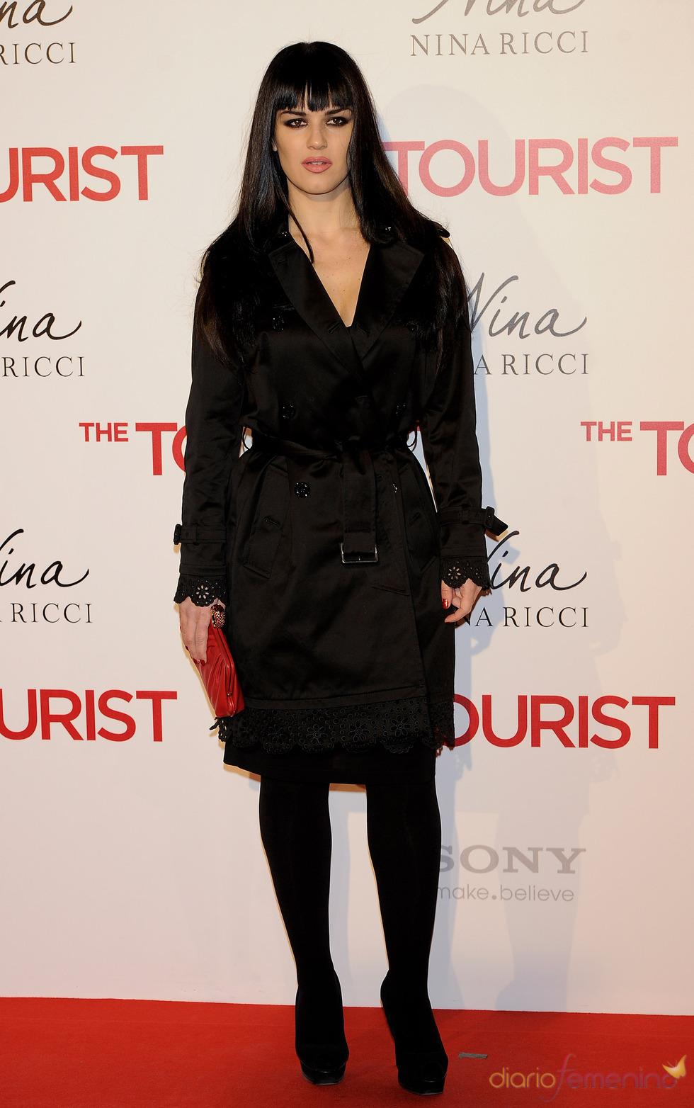 Sara Vega en la premiere de 'The Tourist' en Madrid