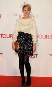 Tania Llasera en la premiere de 'The Tourist' en Madrid