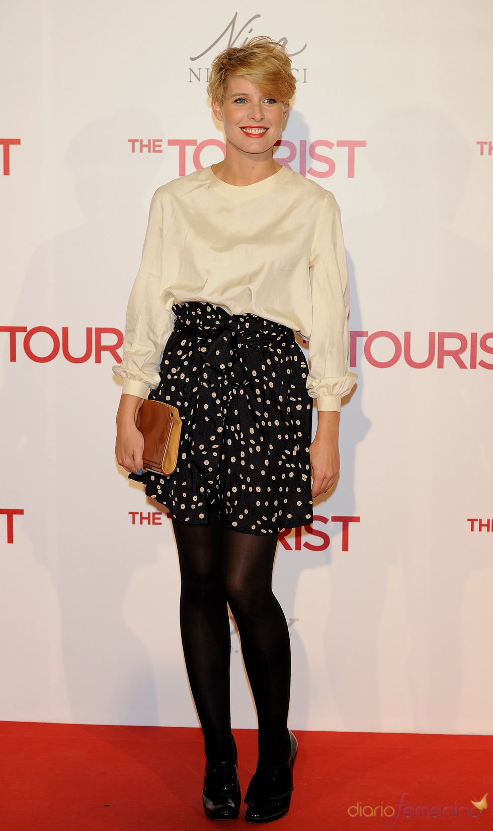 Tania Llasera en la premiere de 'The Tourist' en Madrid