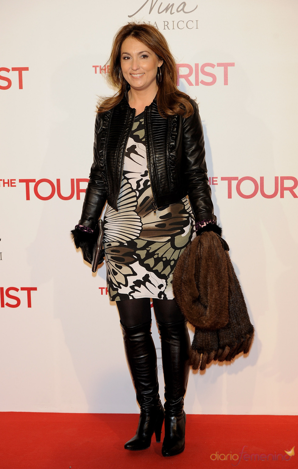Mariam Camino en la premiere de 'The Tourist' en Madrid