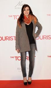 Andrea Guasch en la premiere de 'The Tourist' en Madrid