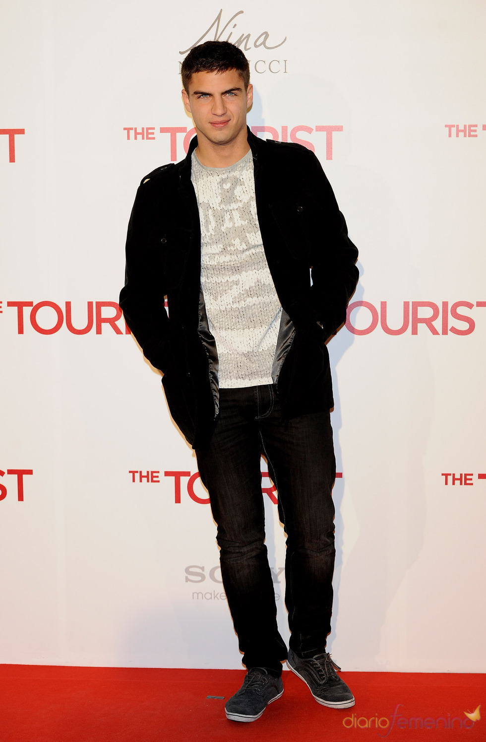 Maxi Iglesias en la premiere de 'The Tourist' en Madrid