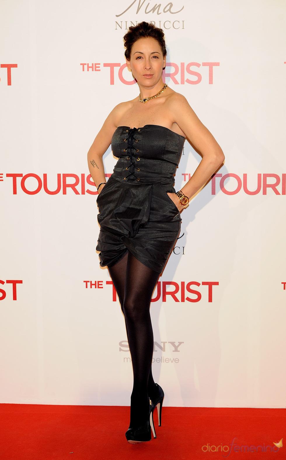 Adriana Lavat en la premiere de 'The Tourist' en Madrid