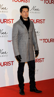 Jaime Cantizano en la premiere de 'The Tourist' en Madrid