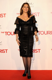 Chayo Mohedano en la premiere de 'The Tourist' en Madrid