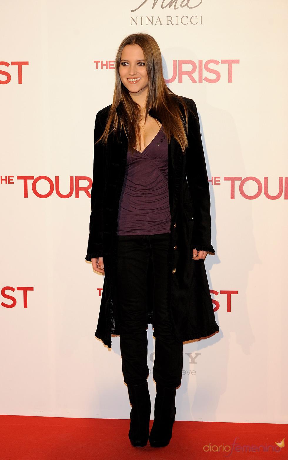Ana Fernández en la premiere de 'The Tourist' en Madrid