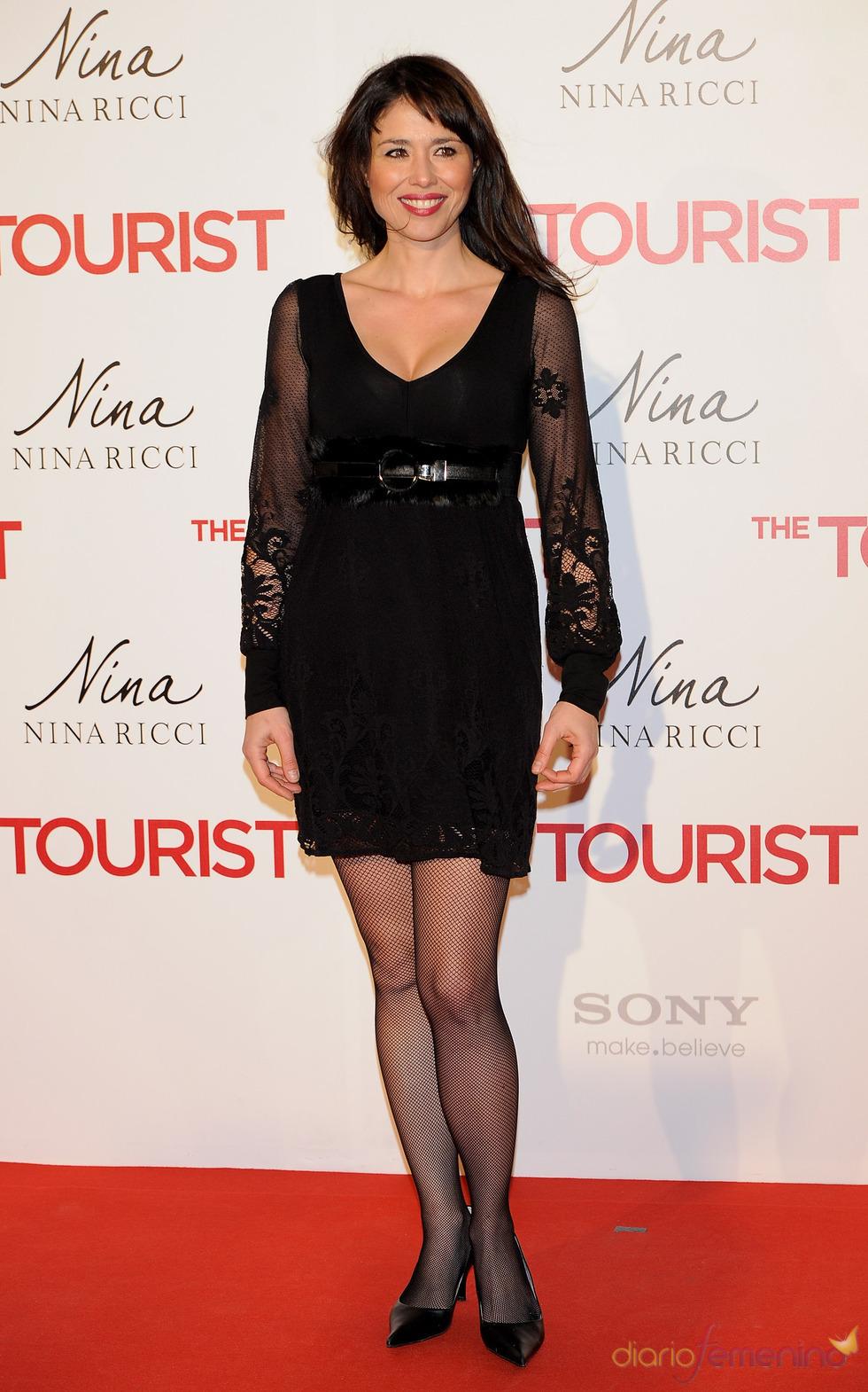Minerva Piquero en la premiere de 'The Tourist' en Madrid