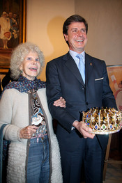 La Duquesa de Alba, muy orgullosa de su hijo Cayetano