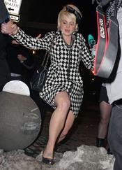 Kelly Osbourne sufre una caída en Nueva York