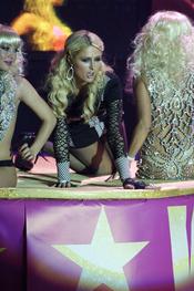 Paris Hilton disfruta de la noche madrileña