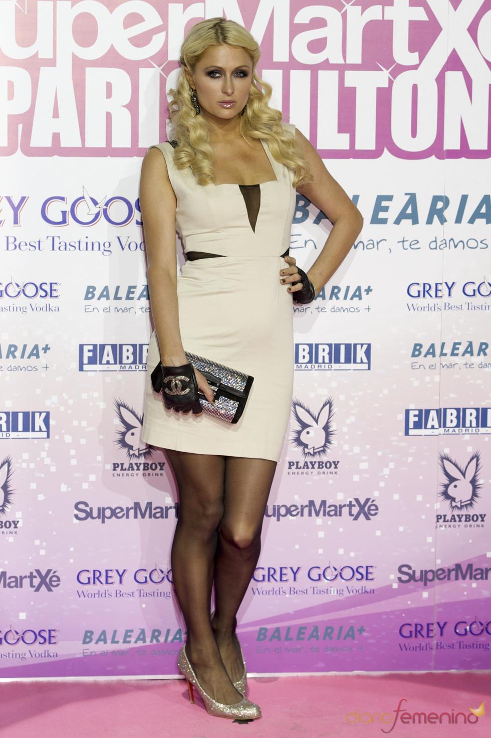 Paris Hilton acude a una gran fiesta en Madrid