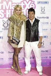 Paris Hilton y Nano Barea en Madrid