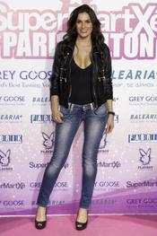 Verónica Hidalgo no quiso perderse la fiesta de Paris Hilton