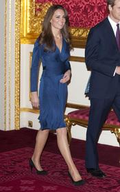 El vestido de Kate Middleton el día de su compromiso