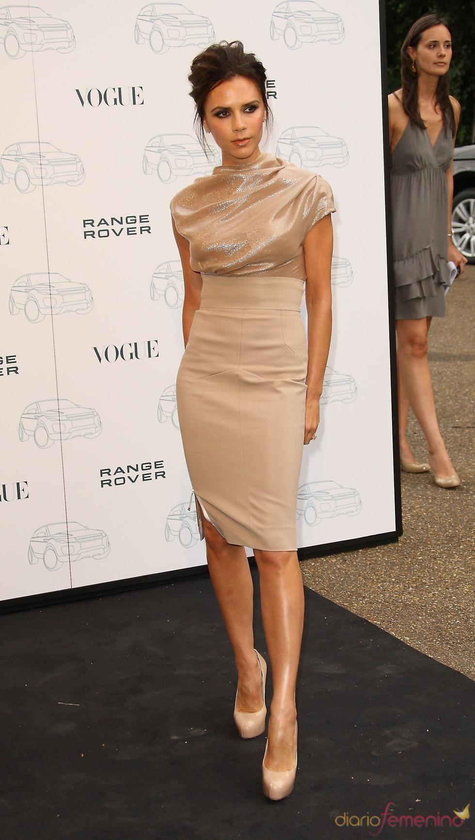 El vestido de Victoria Beckham preferido de las famosas