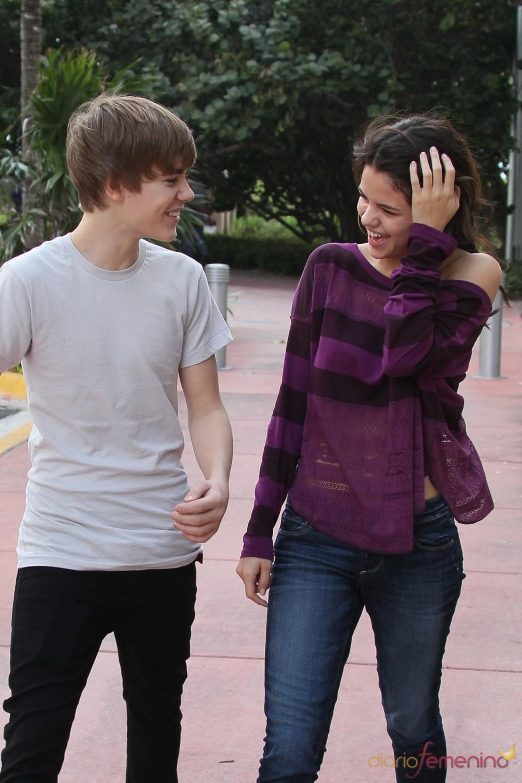 Selena Gomez y Justin Bieber, juntos en Miami