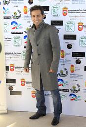 David Bustamante antes de vestirse de futbolista