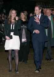 Kate Middleton y Guillermo de Inglaterra en una gala benéfica por Navidad