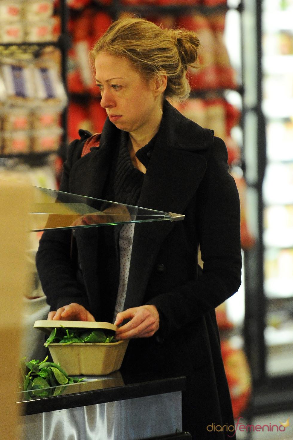 Chelsea Clinton sin maquillaje