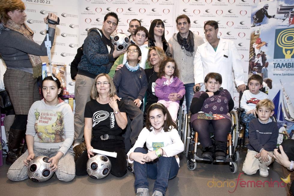 Iker y los niños