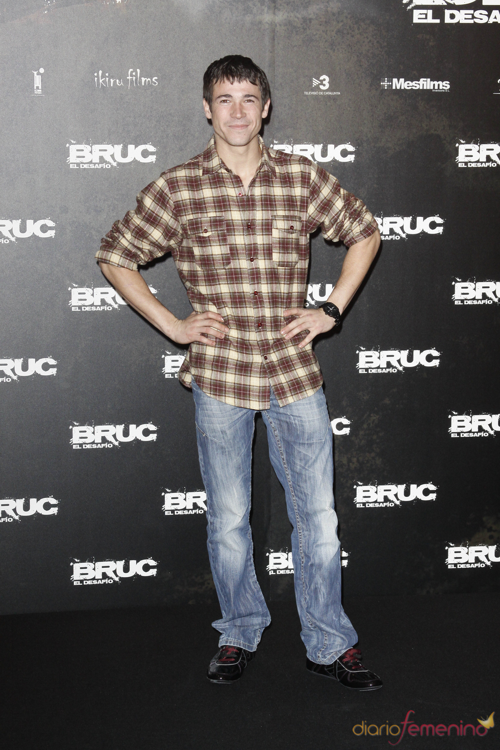 Juan José Ballesta en el etsreno de 'Bruc. El desafío'