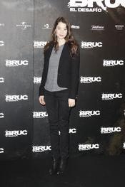 Astrid Bergès-Frisbey en el etsreno de 'Bruc. El desafío'