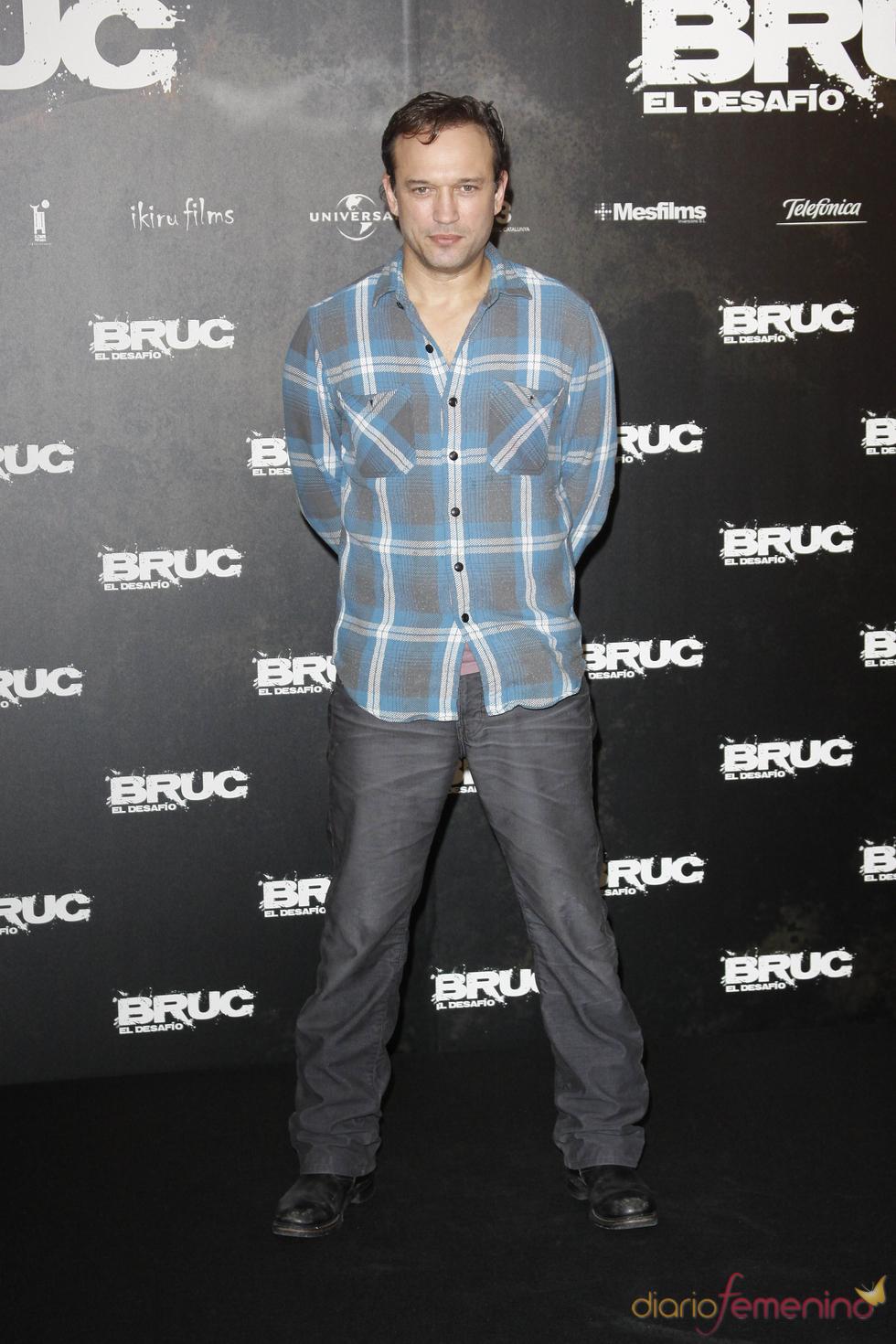Vincent Pérez en el estreno de 'Bruc. El desafío'