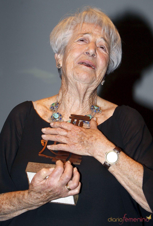 Asunción Balaguer, premiada por la AISGE