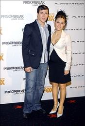 Juan José Ballesta y su novia, de estreno