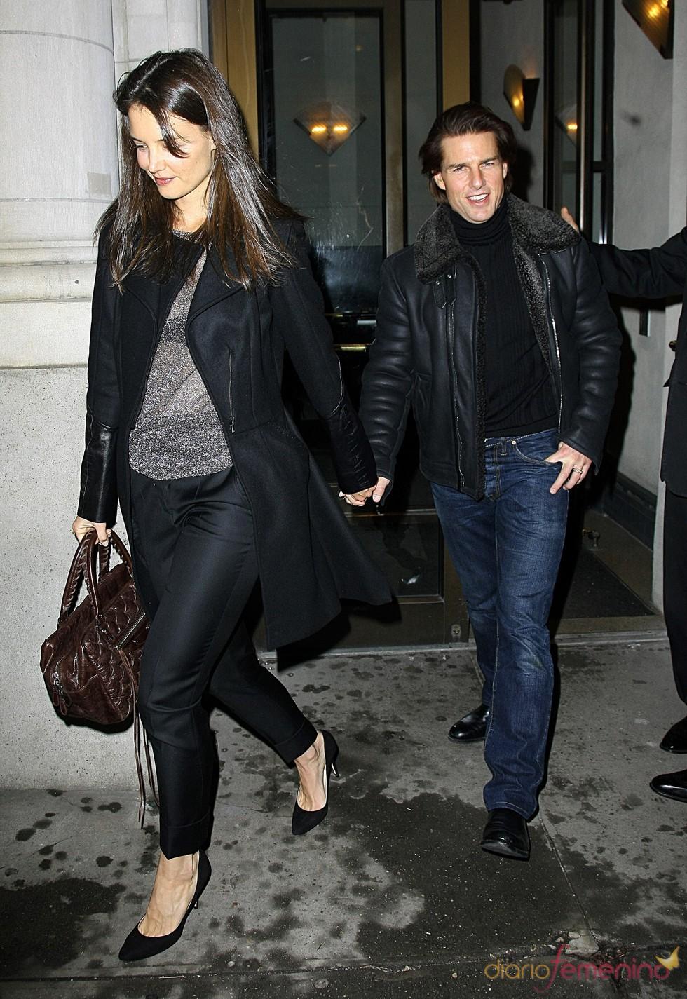 Tom Cruise y Katie Holmes celebran el 32 cumpleaños de la actriz