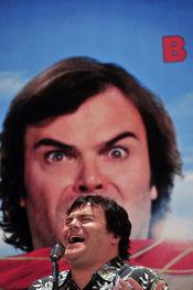 Jack Black presenta 'Los vaijes de Gulliver'