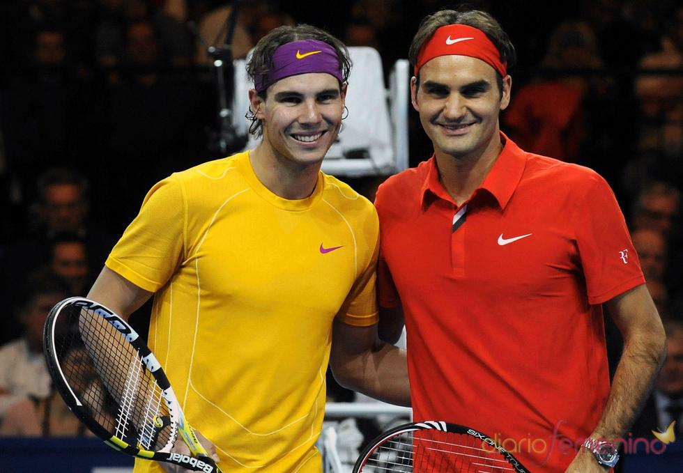 Partido benéfico de Roger Federer y Rafa Nadal