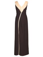 Vestido largo y coqueto de Celina Martín