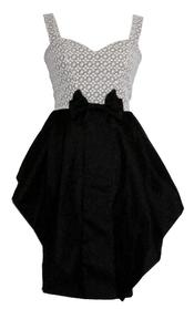 Vestido ceñido de Guatequecacahuete