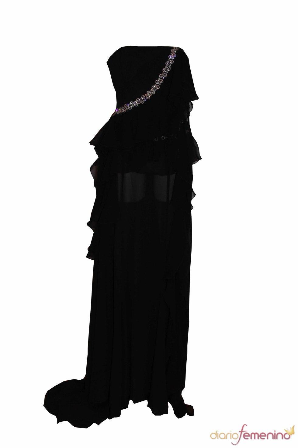 Vestido de fiesta de Oswaldo Machín