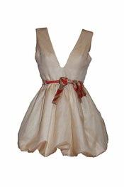 Vestido romántico de Oswaldo Machín