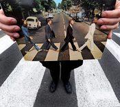 El paso de cebra de Abbey Road, patrimonio histórico