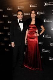 Nieves Álvarez en la cena de gala de la Fundación Rafa Nadal