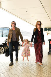 Nicole Kidman, Keith Urban y su hija, una familia feliz