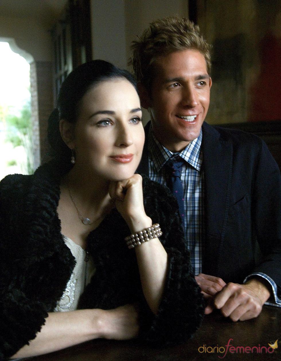 Romance entre Dita Von Teese y  Eric Szmanda en CSI