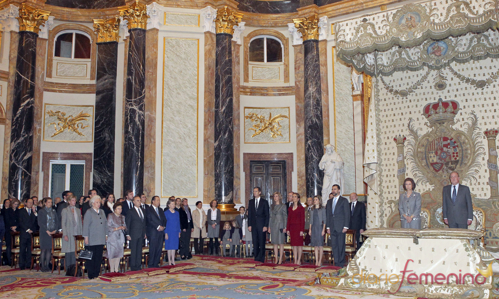 Capilla del Palacio Real en la que se ha celebrado la misa