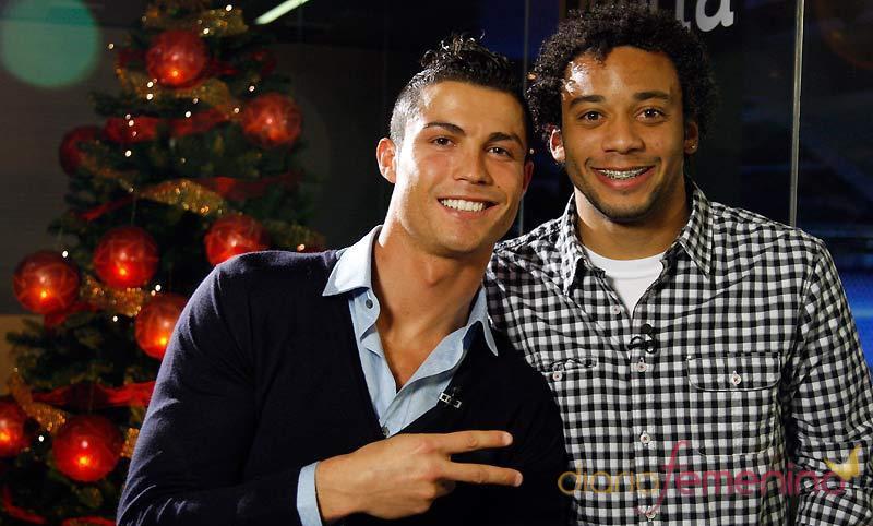 Cristiano Ronaldo y Marcelo Vieira te desean Feliz Navidad 2010